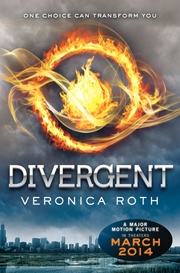 Book Cover of the 2014 Sequoyah High School Book Award Winner Divergent
