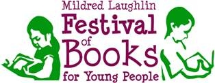 Logo of the Mildred Laughlin Festival of Books for Young People