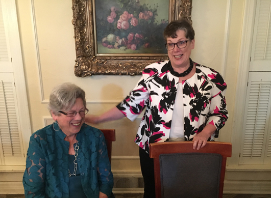 Kay becomes an honorary OLA Past President