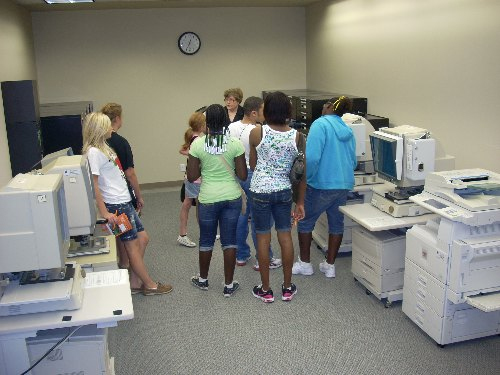 OSU-Tulsa microforms room
