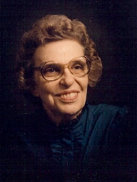 Photograph of Mildred Laughlin