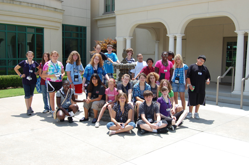 Group photo at Tulsa Historical Society