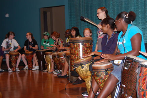 More Drumming