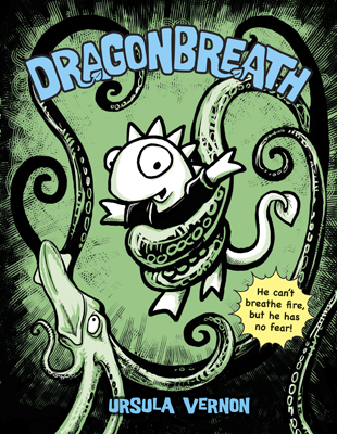 Cover of the Sequoyah Award-winning book Dragonbreath