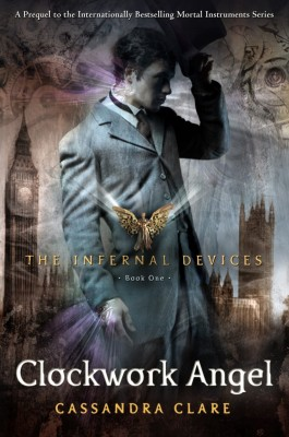Cover of the Sequoyah Award-winning book Clockwork Angel: The Infernal Devices