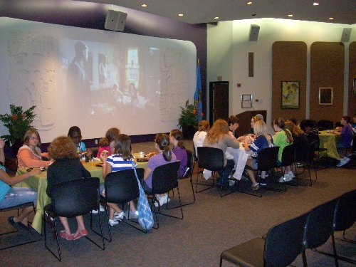 Lunch and a movie at Rudisill Library