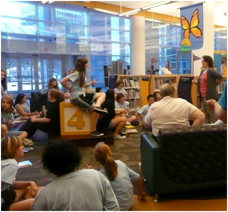 Children's area in the Metropolitan Library System's Downown Library