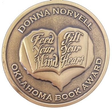 Donna Norvell Book Award Medallion