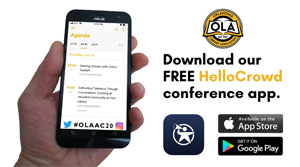 Conference app graphic