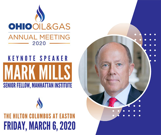 Mark Mills, 2020 OOGA Annual Meeting Keynote Speaker
