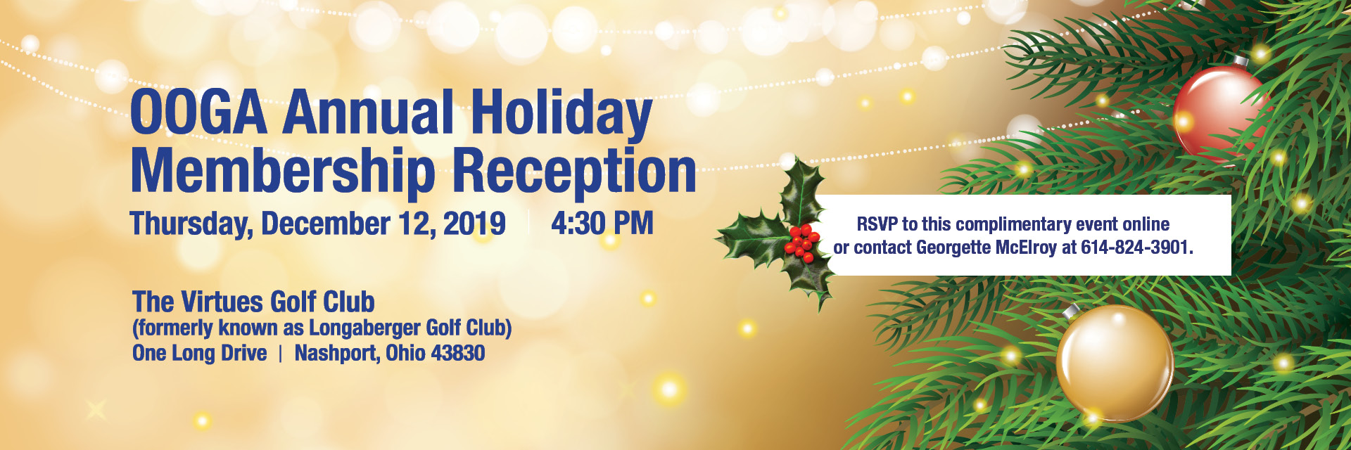 OOGA Annual Holiday Membership Reception