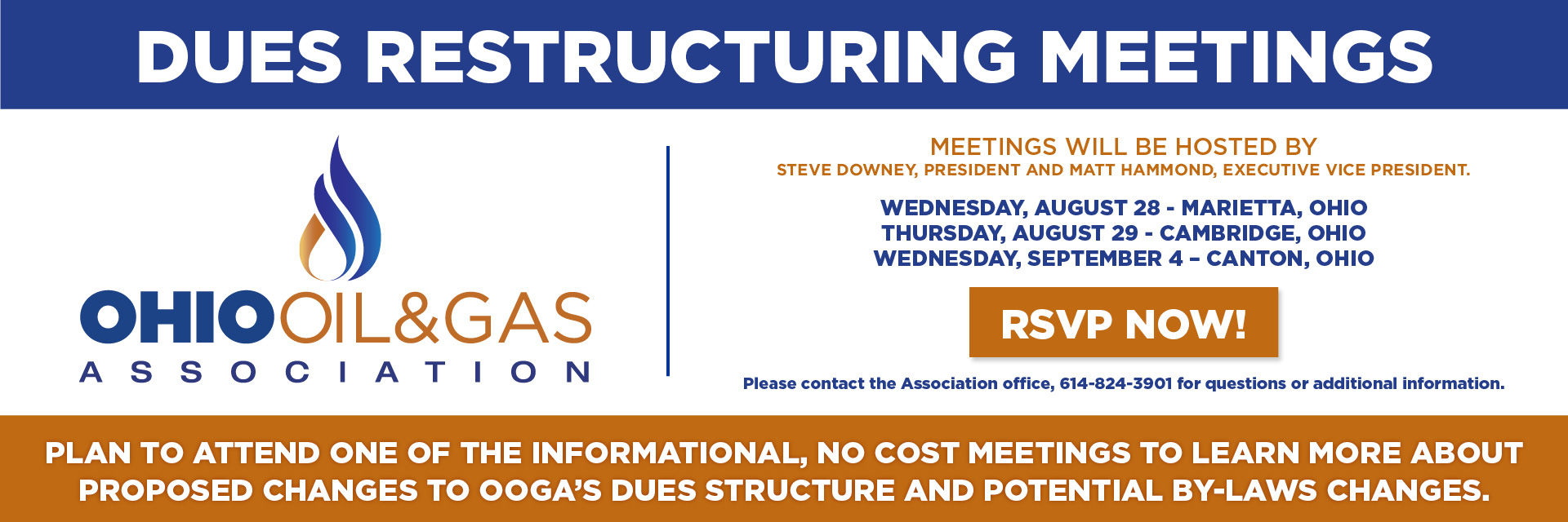Learn more about upcoming OOGA Dues Restructuring