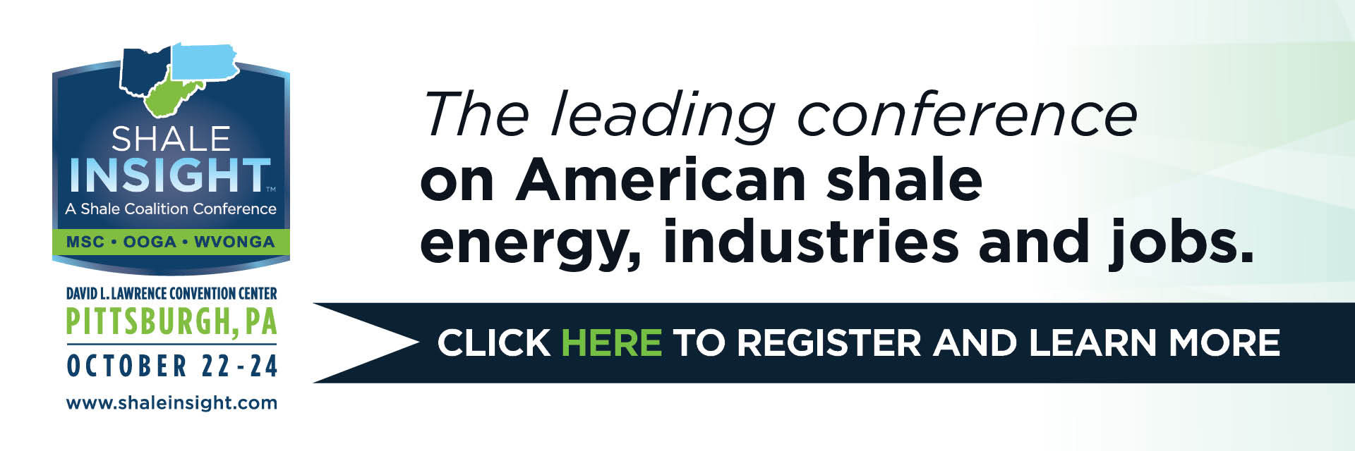 The Leading conference on American shale energy, industries and jobs.