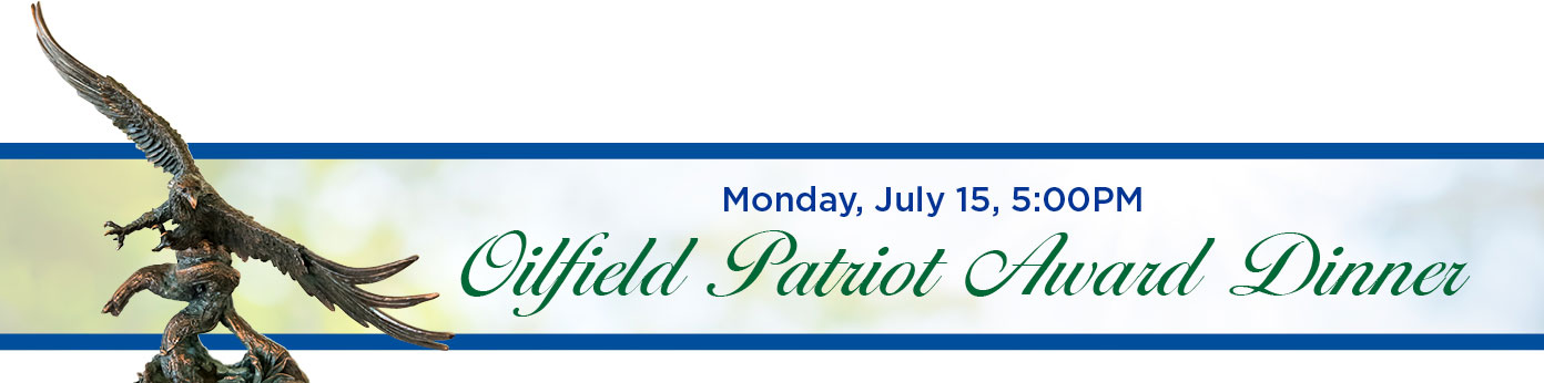 2019 Oilfield Patriot Award