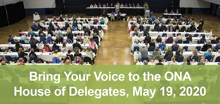 Bring Your Voice to the ONA House of Delegates
