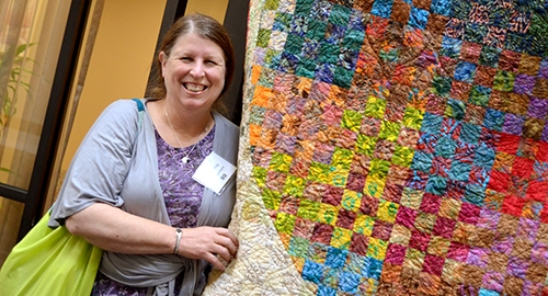Congratulations to ONA member, Terrie King, RN, of Bay Area Hospital, for winning the 2014 Oregon Nurses Foundation Quilt!