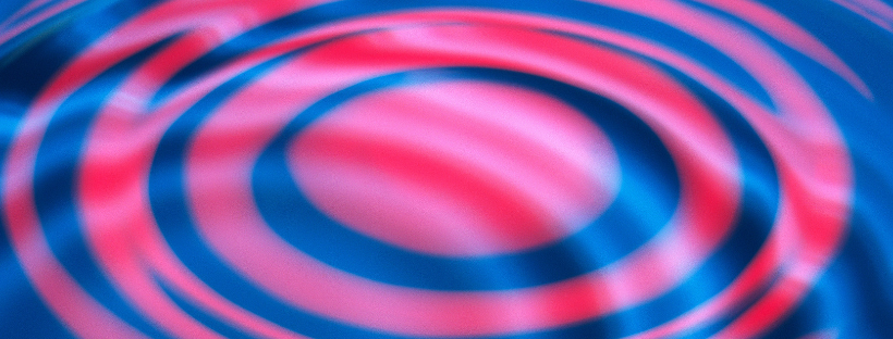 photo depicting rings and rippling fluid