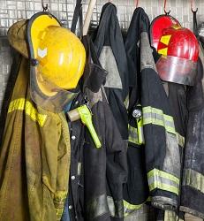 firemen protective gear