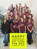 The Rosalind Franklin University class of 2019 is already celebrating the 5th Annual PA Day! Start using the new Member Community app to upload and share photos of your own PA Day celebrations!