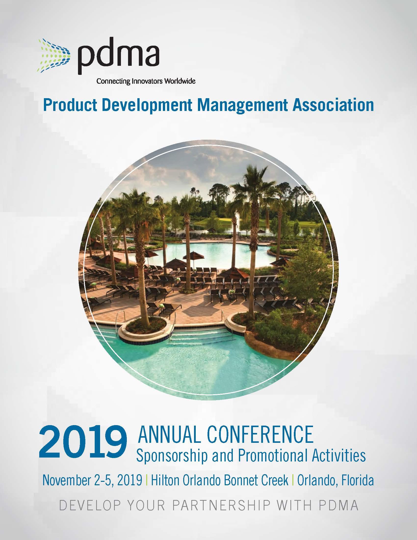 2019 PDMA Conference Prospectus