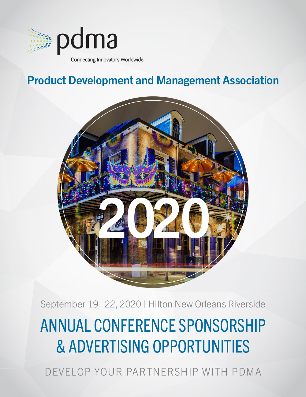PDMA Annual Conference Sponsorship & Advertising Opportunities prospectus