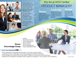 NPDP Certified Product Manager