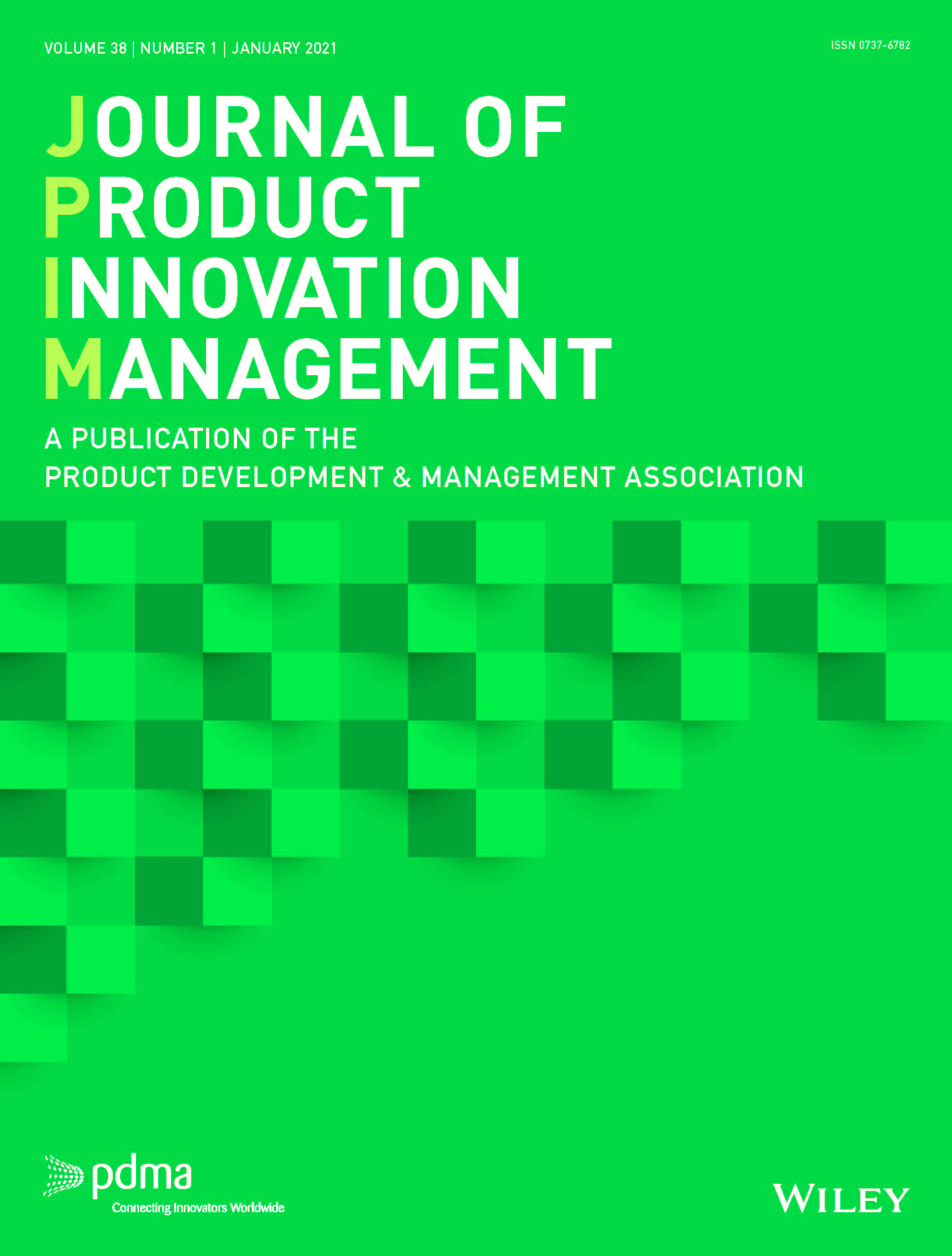 Journal of Product Innovation Management cover