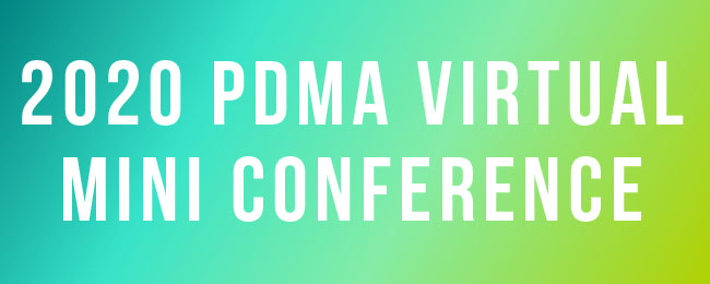 PDMA 2020 Virtual Mini Conference logo