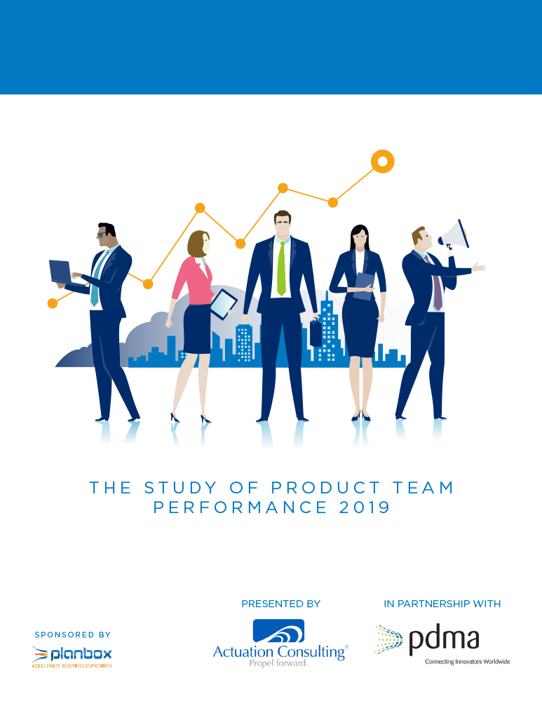 The Study of Product Team Performance 2019 white paper cover