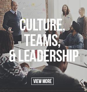 Culture, Teams, & Leadership