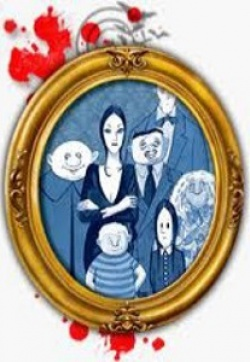 Addams Family portrait