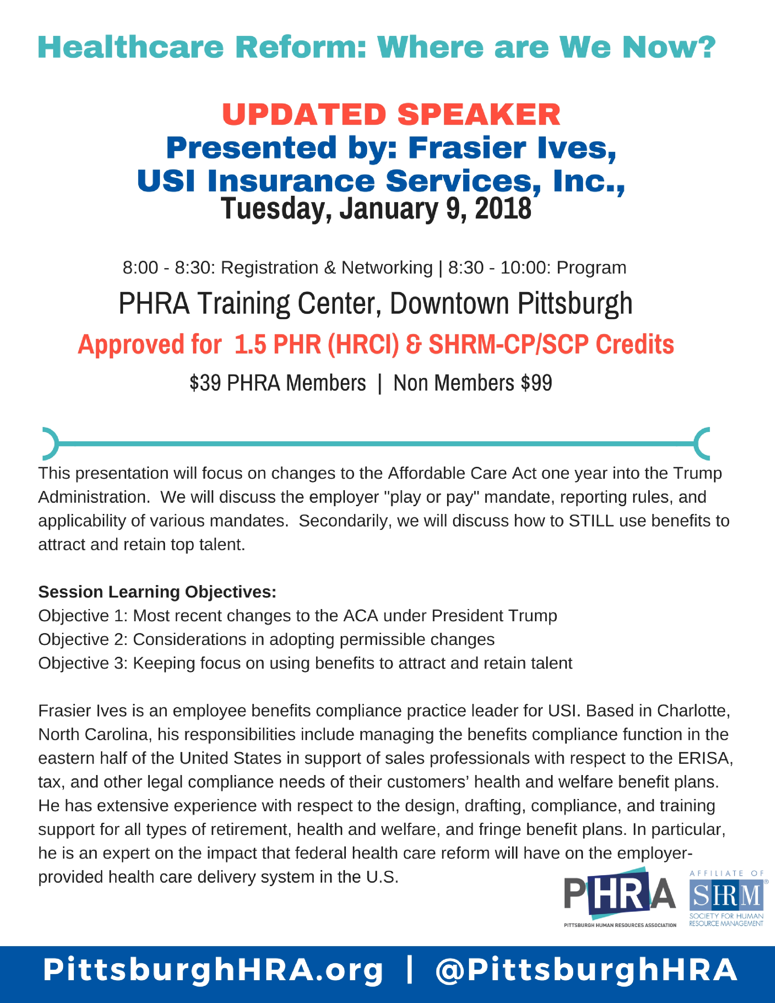 Phr Certification Classes