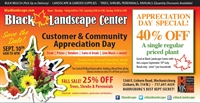 Black Landscape Customer and Community Appreciation Day