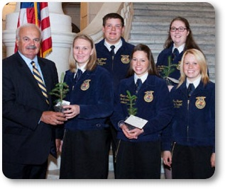 Rep. Marsic and PA FFA Officers
