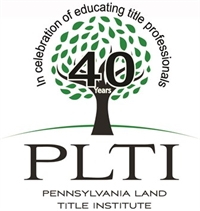 PLTI - Title Insurance - What Is It? - KOP & Webinar - September 18, 2019 - Afternoon