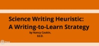 Exploring a Science Writing Heuristic