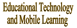 Educational Technology & Mobile Learning