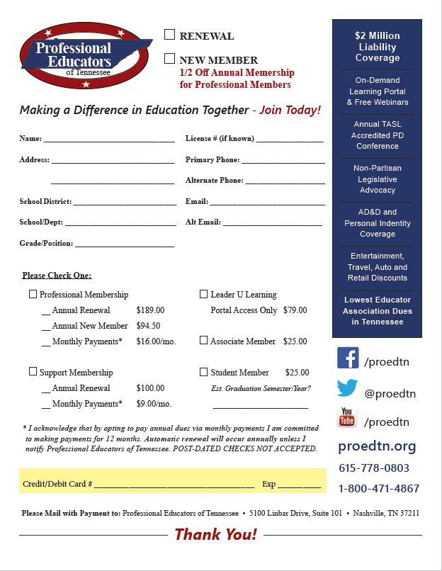Membership Enrollment Form