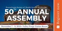 2018 PSHP Annual Assembly - Celebrating 50 years!