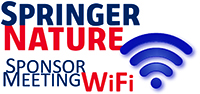 WiFi sponsored by Springer Nature.