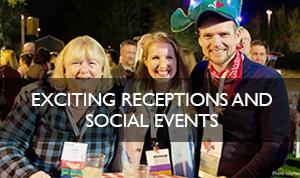 Social receptions QRCA