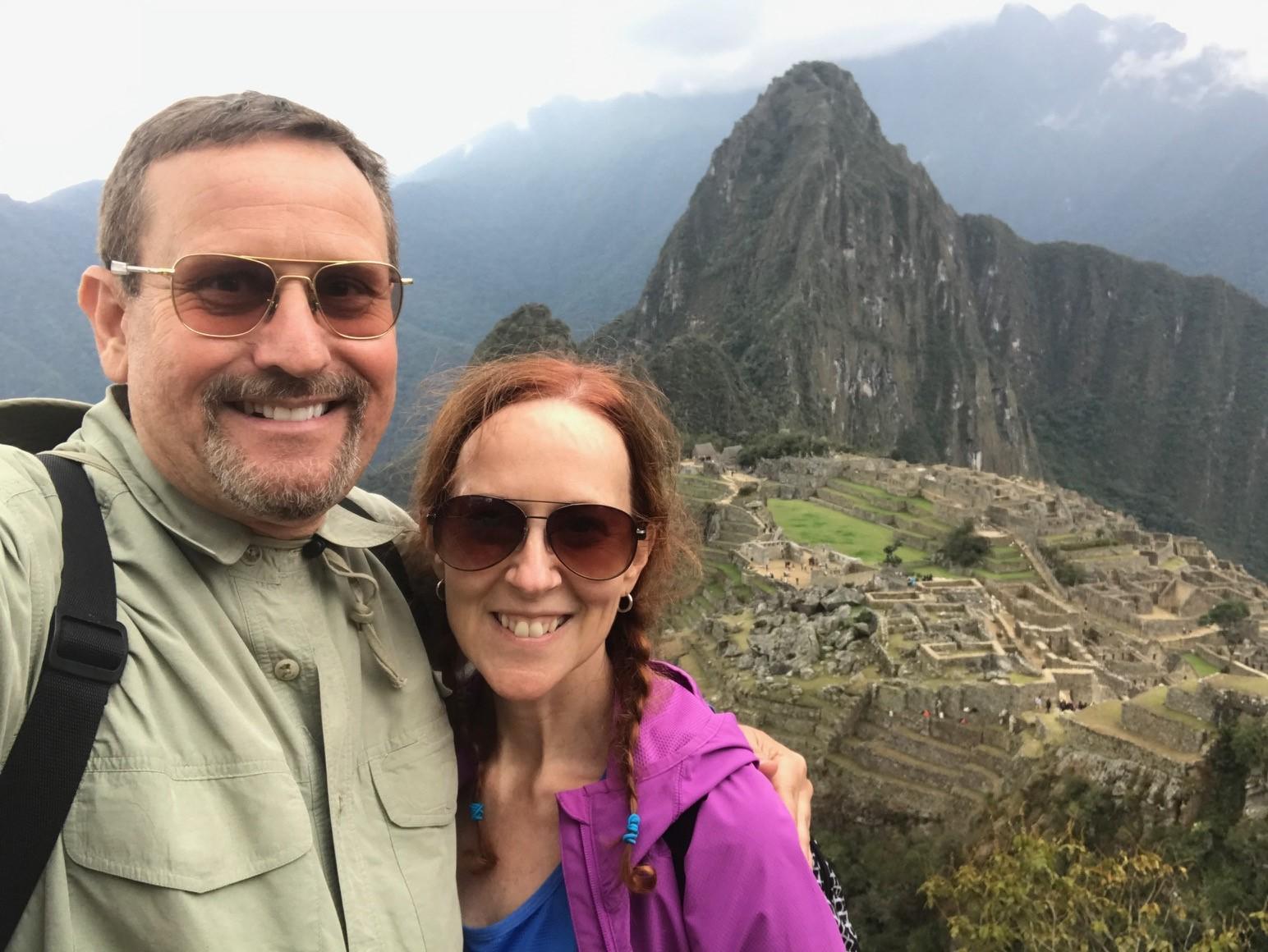 Holly O'Neill, Machu Picchu