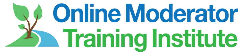 Online Moderator Training Institute