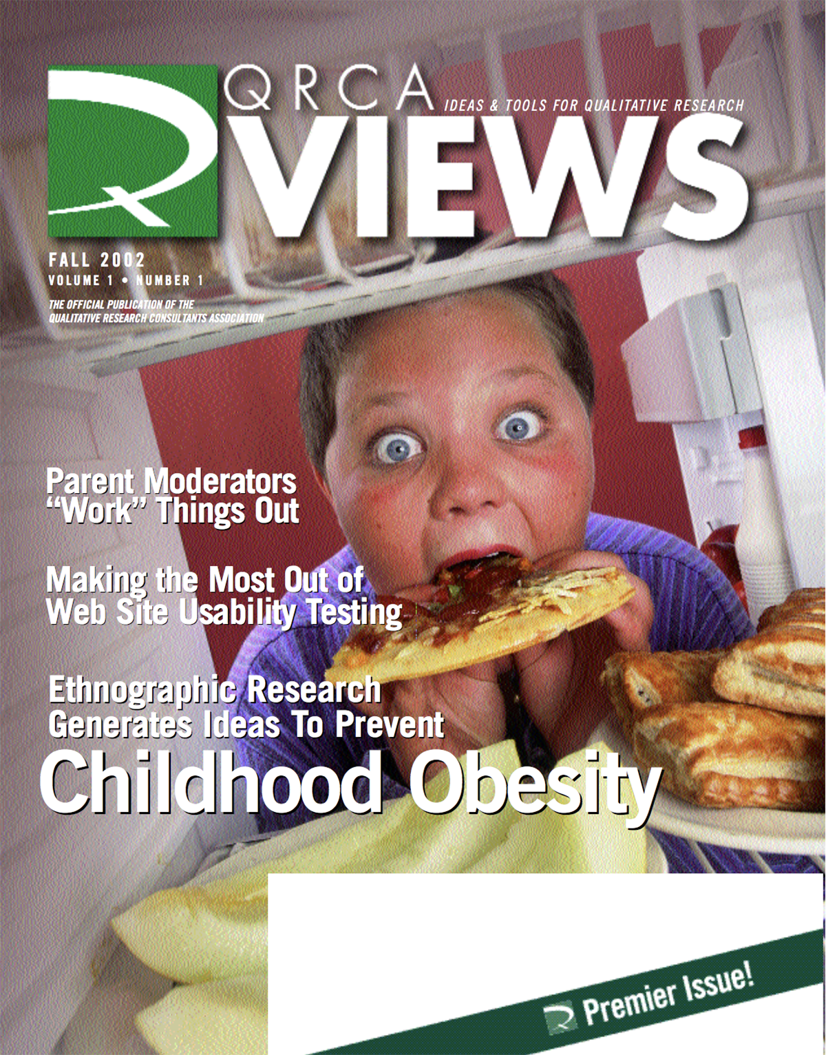 inaugural QRCA Views issue