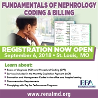 Fundamentals of Nephrology Coding and Billing