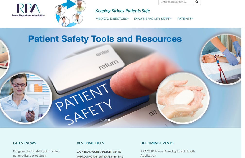 Patient Safety site
