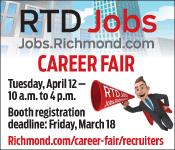 Richmond Times-Dispatch Job Fair. Click here.