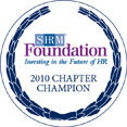 2010 SHRM Foundation Chapter Champion logo