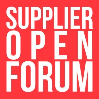 Supplier Open Forum Call 07/14/17