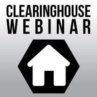 Clearinghouse Training Webinar 07/26/17